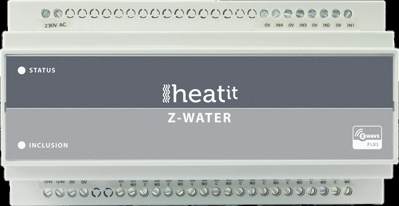 Контроллер водяного отопления на 10 выходов Heatit Z-Water
