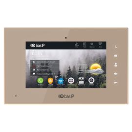IP Видеодомофон - BAS-IP AQ-07 White/Gold/Black Золотой