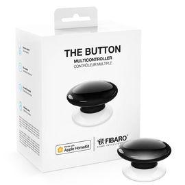 Кнопка управления FIBARO The Button для Apple HomeKit, black (черный) - FGBHPB-101-2, Цвет: Черный