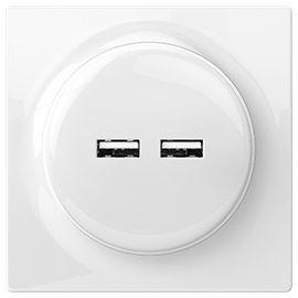USB-розеткаFIBARO Walli N USB Outlet — FGWU-021