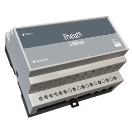 Реле на 6 каналов на DIN-рейку Heatit Z-DIN 616