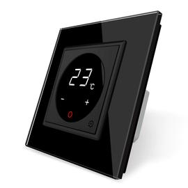 Терморегулятор Livolo для электрического теплого пола, Цвет: Черный