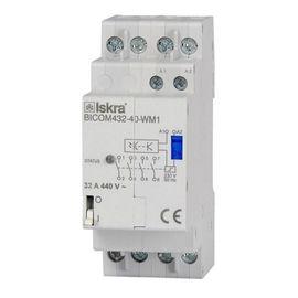 Бистабильный коммутатор на 32А для измерителя электроэнергии Qubino Smart Meter - BICOM432-40-WM1