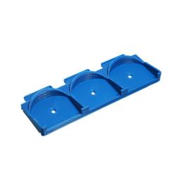 Крепление на DIN-рейку для трех модулей FIBARO - SAL_d103-s