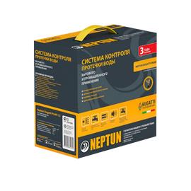 "Комплект контроля протечки воды Neptun Bugatti ProW 12V, Диаметр крана: 1/2"", Питание: 12В"