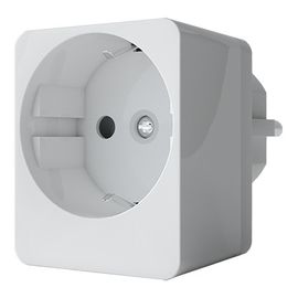 Розеточный выключатель Qubino Smart Plug 16A со счетчиком электроэнергии - GOAEZMNHYD1
