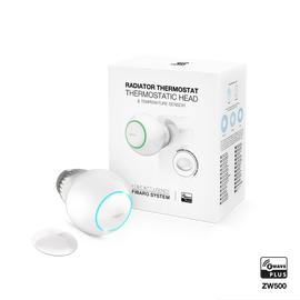 Радиаторный термостат с внешним датчиком температуры FIBARO Radiator Thermostat Starter Pack —  FIBEFGT-START