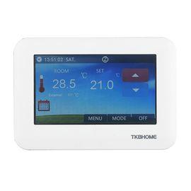 Термостат TKB Home с сенсорным экраном - TKBETZ96
