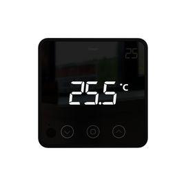 Беспроводной комнатный термостат Heatit Z-Temp 2, Питание: Батарея АА, Цвет: Черный