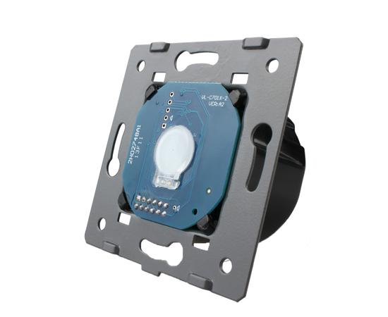 Механизм сенсорного выключателя Livolo 1-канальный с таймером, Количество каналов: 1, Питание: 220В, Встроенный радио модуль: Нет, Тип выключателя Livolo: С таймером