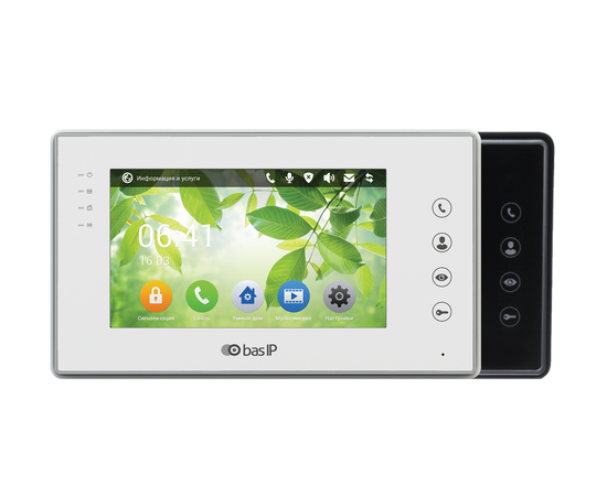 IP Видеодомофон - BAS-IP AR-07L v3 White/Black