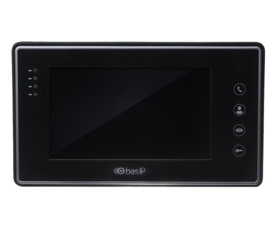 IP Видеодомофон - BAS-IP AR-07L v3 White/Black Черный