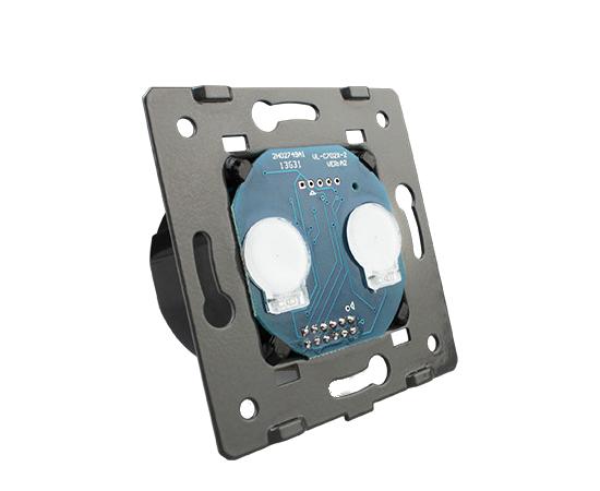 Механизм выключателя Livolo 2-канальный, Radio, Количество каналов: 2, Питание: 220В, Встроенный радио модуль: Да, Тип выключателя Livolo: Классический, изображение 2