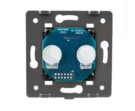 Механизм выключателя Livolo 2-канальный, Radio, Количество каналов: 2, Питание: 220В, Встроенный радио модуль: Да, Тип выключателя Livolo: Классический, изображение 3