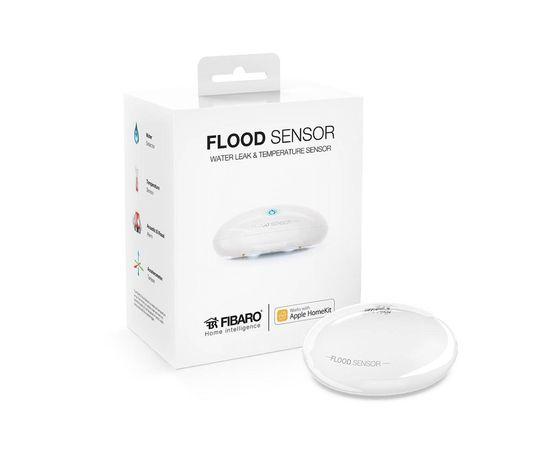 Датчик протечки FIBARO Flood Sensor для Apple HomeKit - FGBHFS-101