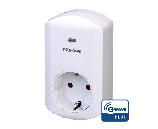 Розеточный выключатель со счетчиком электроэнергии TKB Home - TKBETZ69-G