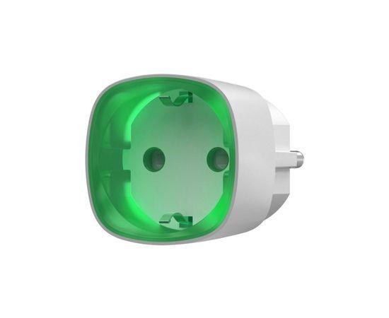 Радиоуправляемая умная розетка со счетчиком энергопотребления Ajax Socket, Цвет: Белый , Питание: 220В