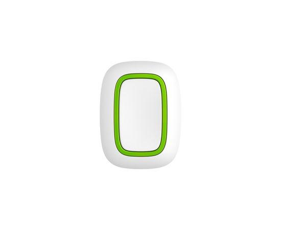 Тревожная кнопка Ajax Button, Цвет: Белый , Питание: Батарейки