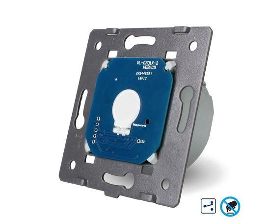 Механизм бесконтактного проходного выключателя Livolo 1-канальный, Количество каналов: 1, Питание: 220В, Встроенный радио модуль: Нет, Тип выключателя Livolo: Проходной