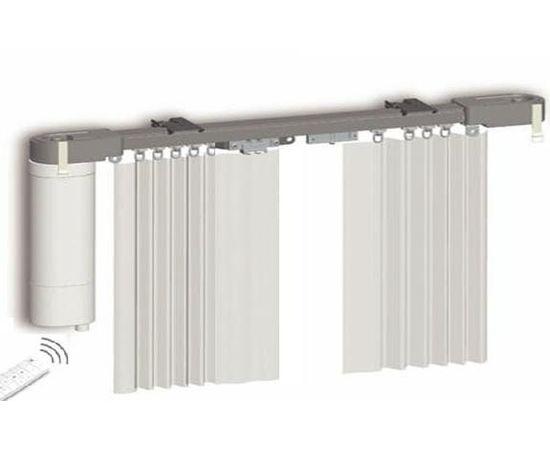 Электрокарниз GANT в сборе, Протокол управления: 433 MHz, Длина карниза: 2м