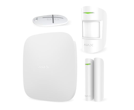 Комплект сигнализации Ajax StarterKit, Цвет: Белый