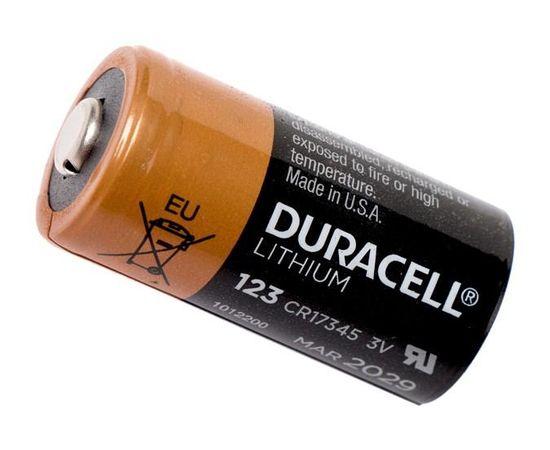 Батарейка литиевая Duracell CR123A
