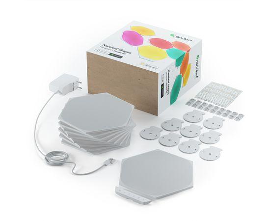 Умная система освещения Nanoleaf Shapes - Hexagon Starter Kit Apple Homekit - 9 шт., Питание: 220В, Количество панелей: 9