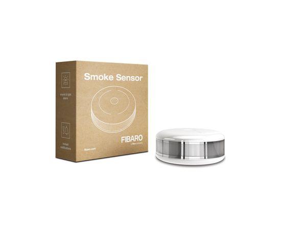 Датчик задымления и температуры FIBARO Smoke Sensor — FIBEFGSD-002 (FIB_FGSS-101)