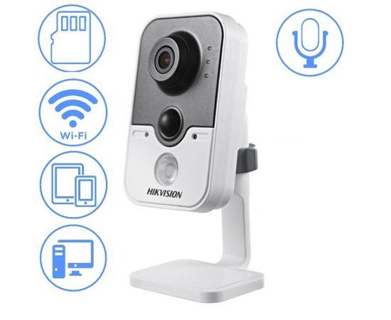 IP камера HIKVISION DS-2CD2410F-IW/2,8mm - комнатная wifi камера 1 МП