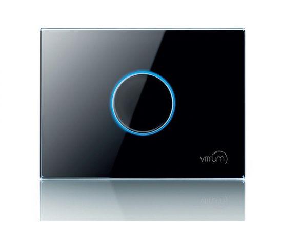 Сенсорный выключатель Vitrum 1-канальный, KNX, европейский стандарт, Количество каналов: 1, Стандарт выключателя: Европейский, Тип механизма выключателя: Выключатель (реле)